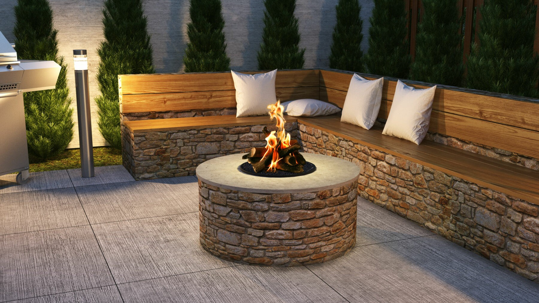Chad-O-Chef Outdoor Fire Pit