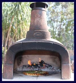 Keith Hamilton Pronto Pizza Oven